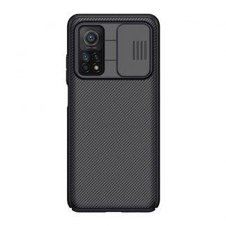 Nakladka Nillkin Silikonovaya Camshield Dlya Xiaomi Mi 10t Pro Chernyj 1