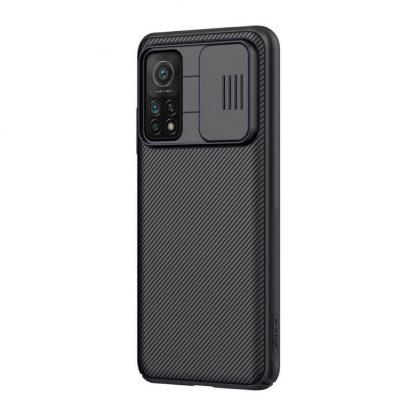 Nakladka Nillkin Silikonovaya Camshield Dlya Xiaomi Mi 10t Pro Chernyj 3