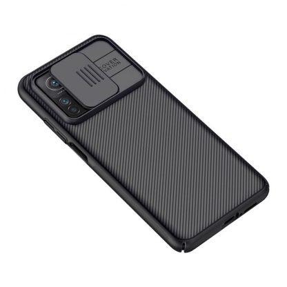 Nakladka Nillkin Silikonovaya Camshield Dlya Xiaomi Mi 10t Pro Chernyj 6