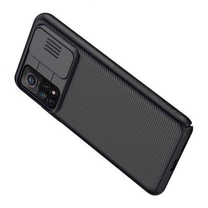 Nakladka Nillkin Silikonovaya Camshield Dlya Xiaomi Mi 10t Pro Chernyj 7