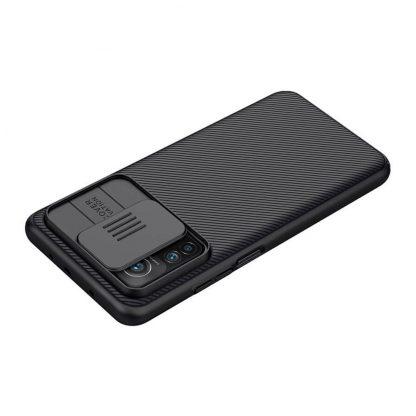 Nakladka Nillkin Silikonovaya Camshield Dlya Xiaomi Mi 10t Pro Chernyj 8