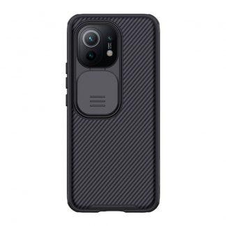 Nakladka Nillkin Silikonovaya Camshield Dlya Xiaomi Mi11 Chernyj 1
