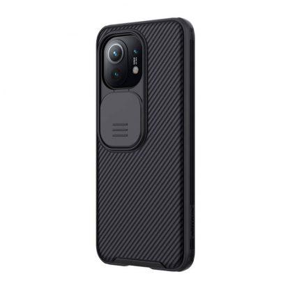 Nakladka Nillkin Silikonovaya Camshield Dlya Xiaomi Mi11 Chernyj 3