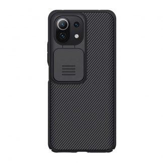 Nakladka Nillkin Silikonovaya Camshield Dlya Xiaomi Mi11 Lite Chernyj 1