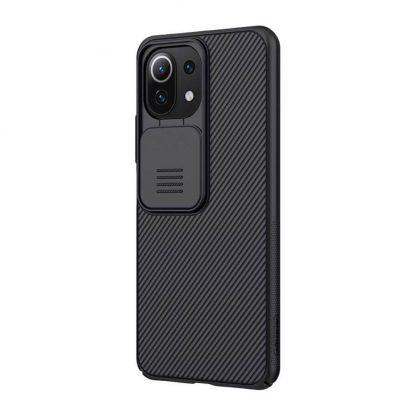 Nakladka Nillkin Silikonovaya Camshield Dlya Xiaomi Mi11 Lite Chernyj 3