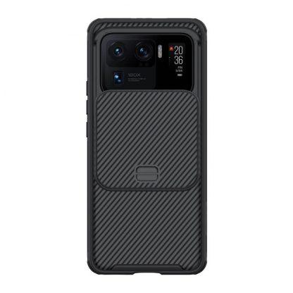 Nakladka Nillkin Silikonovaya Camshield Dlya Xiaomi Mi11 Ultra Chernyj 1
