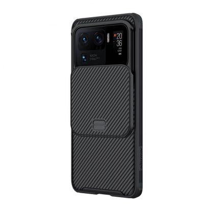 Nakladka Nillkin Silikonovaya Camshield Dlya Xiaomi Mi11 Ultra Chernyj 3