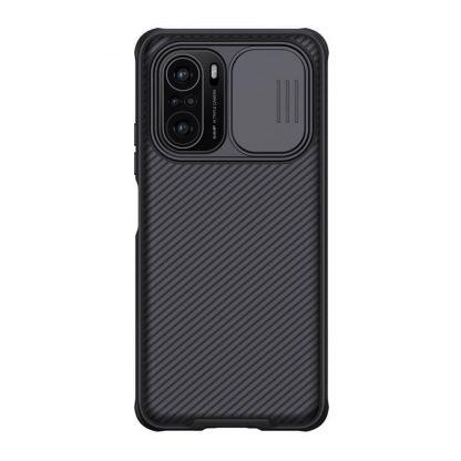 Nakladka Nillkin Silikonovaya Camshield Dlya Xiaomi Poco F3 Chernyj 1