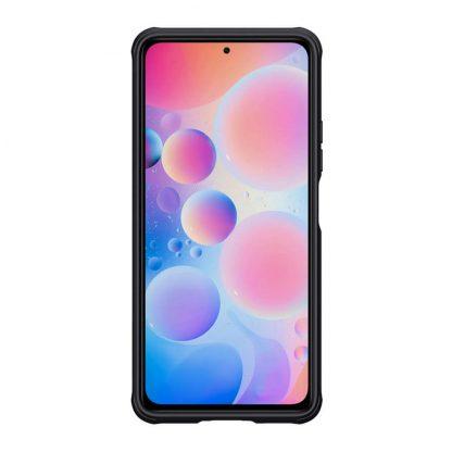 Nakladka Nillkin Silikonovaya Camshield Dlya Xiaomi Poco F3 Chernyj 2