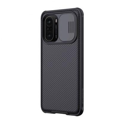 Nakladka Nillkin Silikonovaya Camshield Dlya Xiaomi Poco F3 Chernyj 3