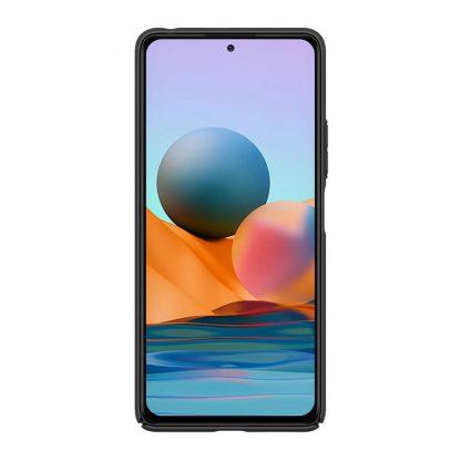Nakladka Nillkin Silikonovaya Camshield Dlya Xiaomi Redmi Note 10 Pro Chernyj 2