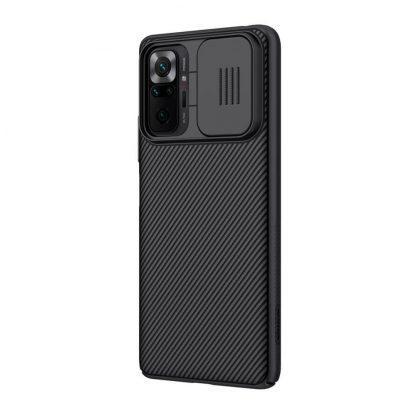 Nakladka Nillkin Silikonovaya Camshield Dlya Xiaomi Redmi Note 10 Pro Chernyj 3