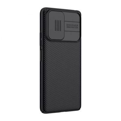 Nakladka Nillkin Silikonovaya Camshield Dlya Xiaomi Redmi Note 10 Pro Chernyj 4