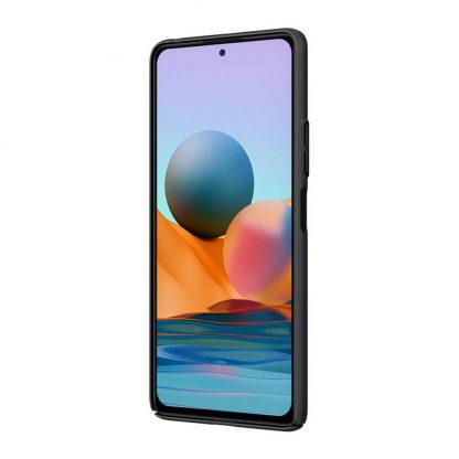 Nakladka Nillkin Silikonovaya Camshield Dlya Xiaomi Redmi Note 10 Pro Chernyj 5