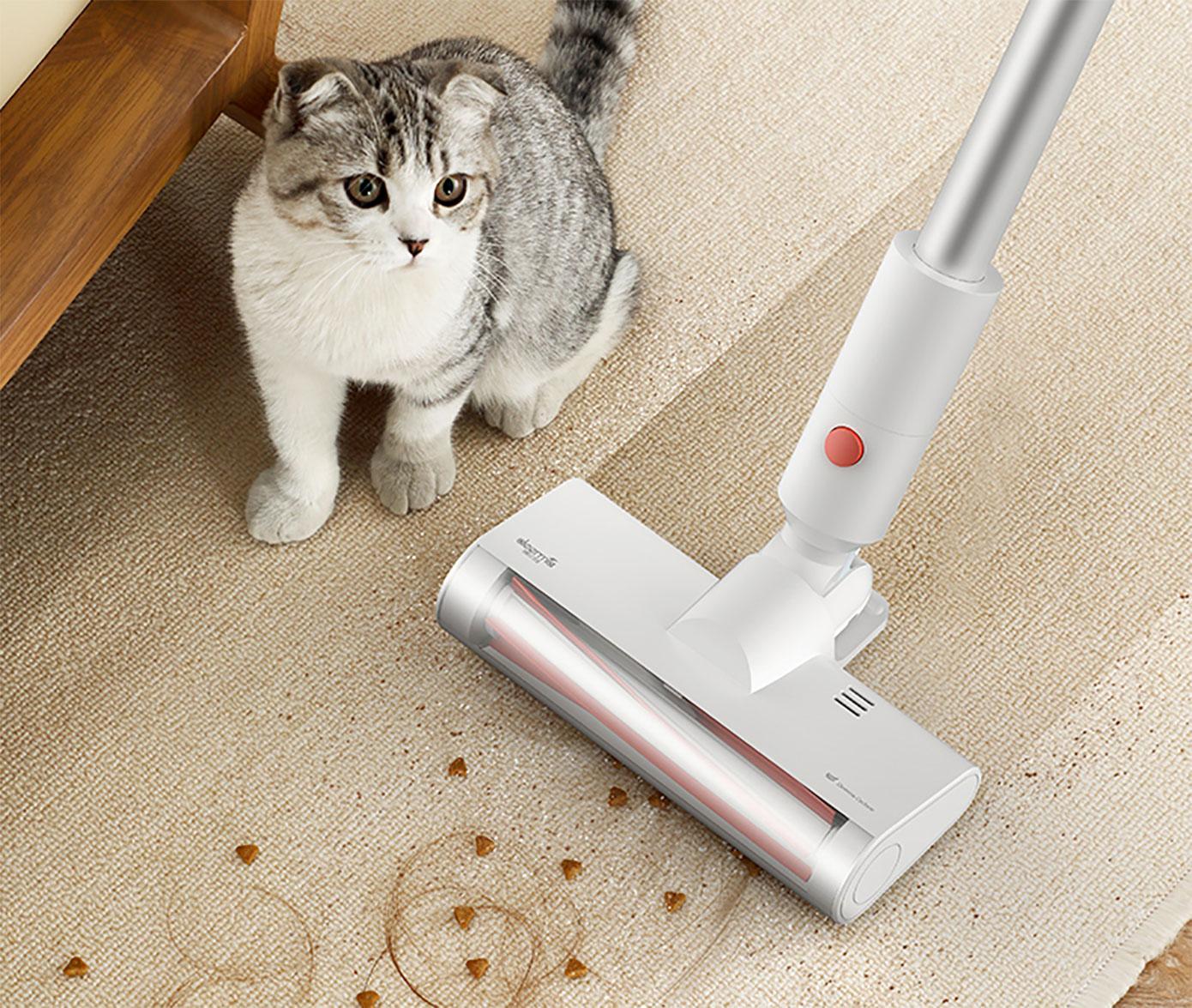 Opisanie Besprovodnoj Ruchnoj Pylesos Deerma Vc25 Wireless Vacuum Cleaner Dem Vc25 5