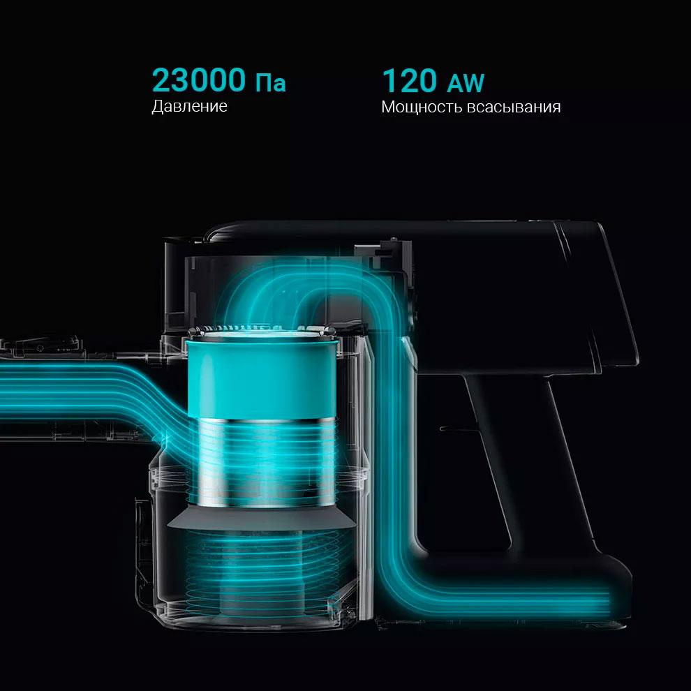Opisanie Besprovodnoj Ruchnoj Pylesos Viomi A9 Hanheld Wireless Vacuum Cleaner Black 5