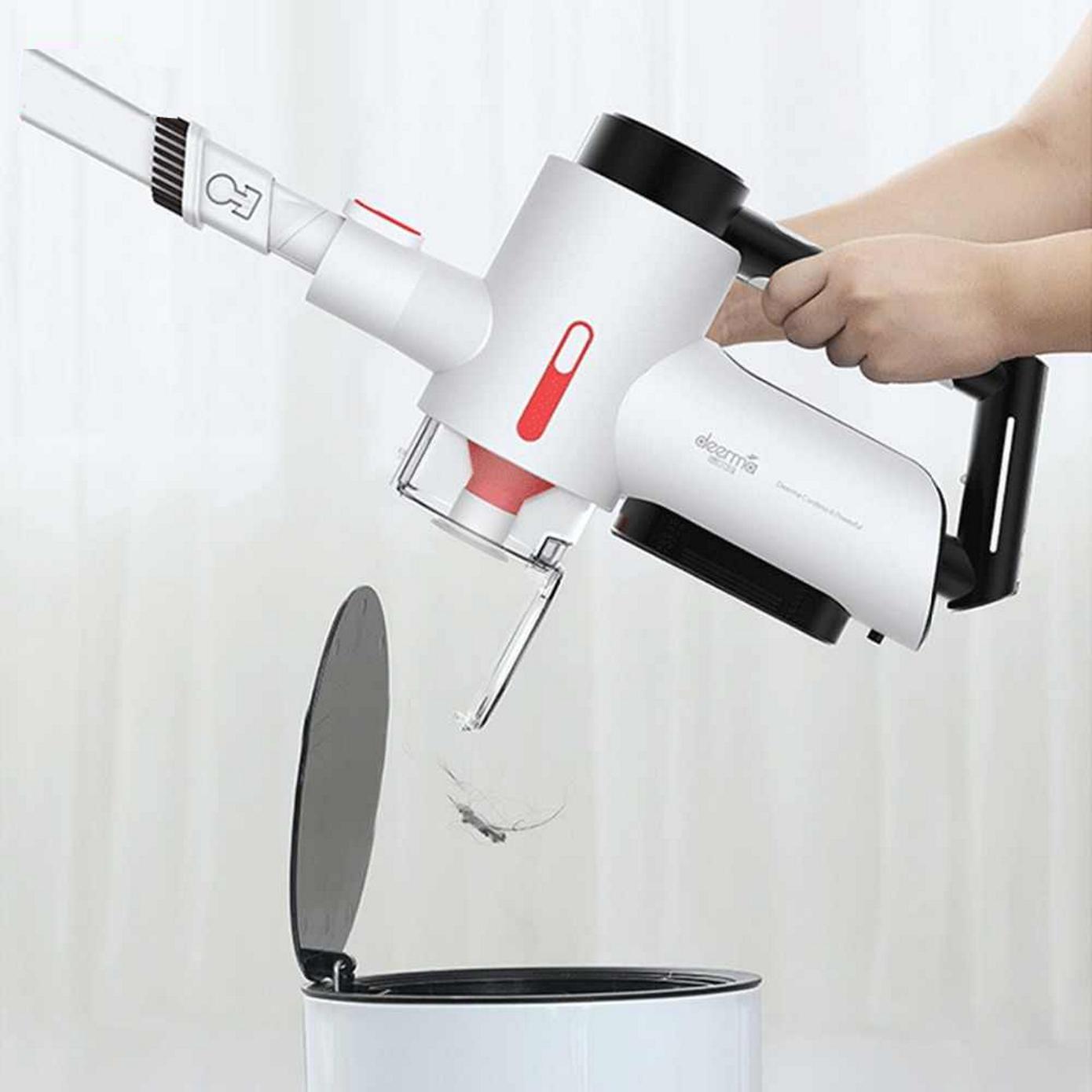 Opisanie Besprovodnoj Ruchnoj Pylesos Xiaomi Deerma Wireless Vacuum Cleaner Vc40 4