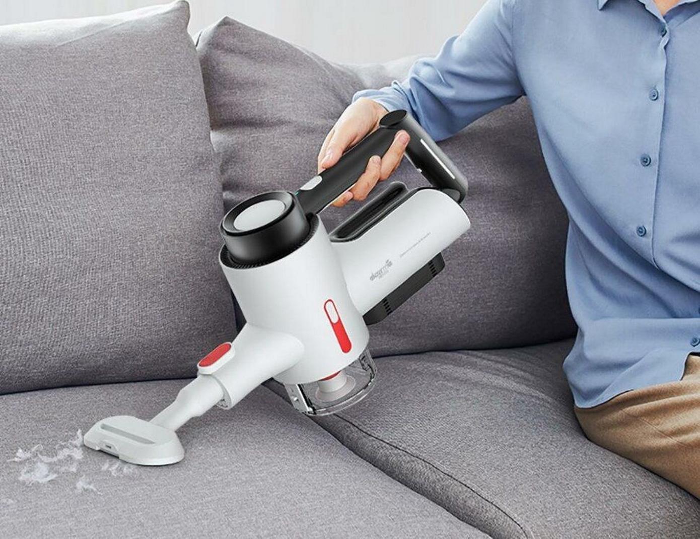 Opisanie Besprovodnoj Ruchnoj Pylesos Xiaomi Deerma Wireless Vacuum Cleaner Vc40 6