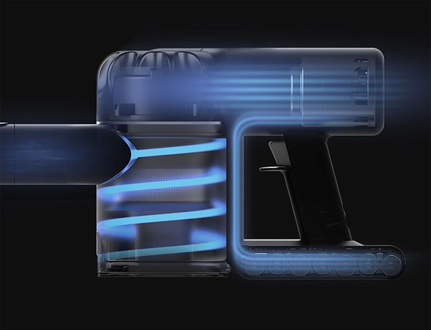 Opisanie Besprovodnoj Ruchnoj Pylesos Xiaomi Dreame V9p Wireless Vacuum Cleaner 03