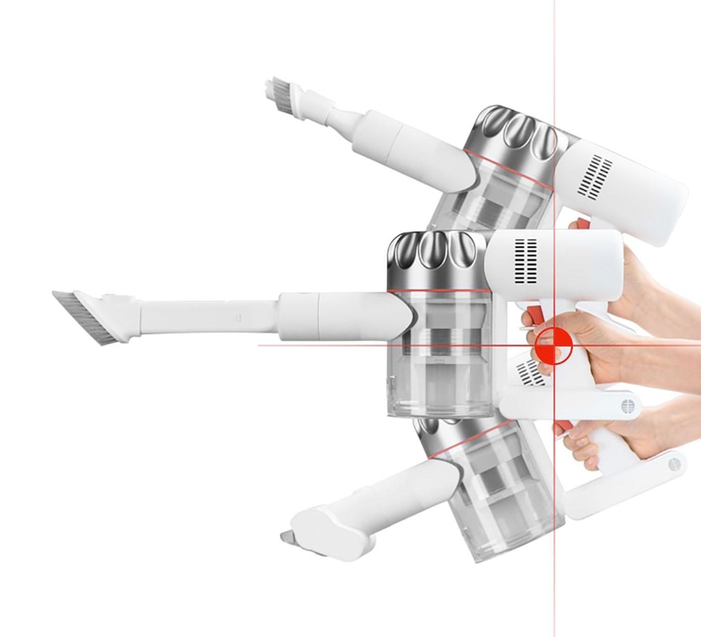 Opisanie Besprovodnoj Ruchnoj Pylesos Xiaomi Dreame V9p Wireless Vacuum Cleaner 07