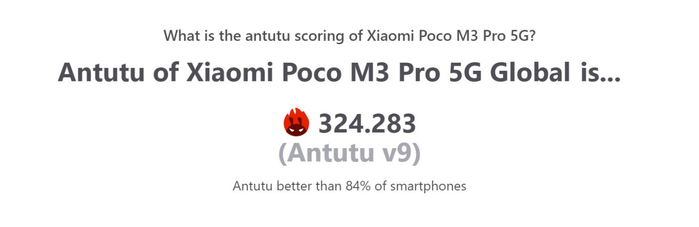 Opisanie Poco M3 Pro 5g 2