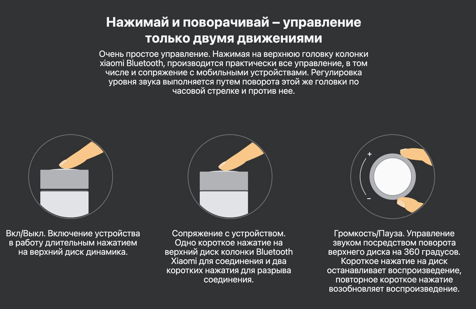 Opisanie Portativnaya Bluetooth Kolonka Xiaomi Cannon 2 Fxr4041cn 2