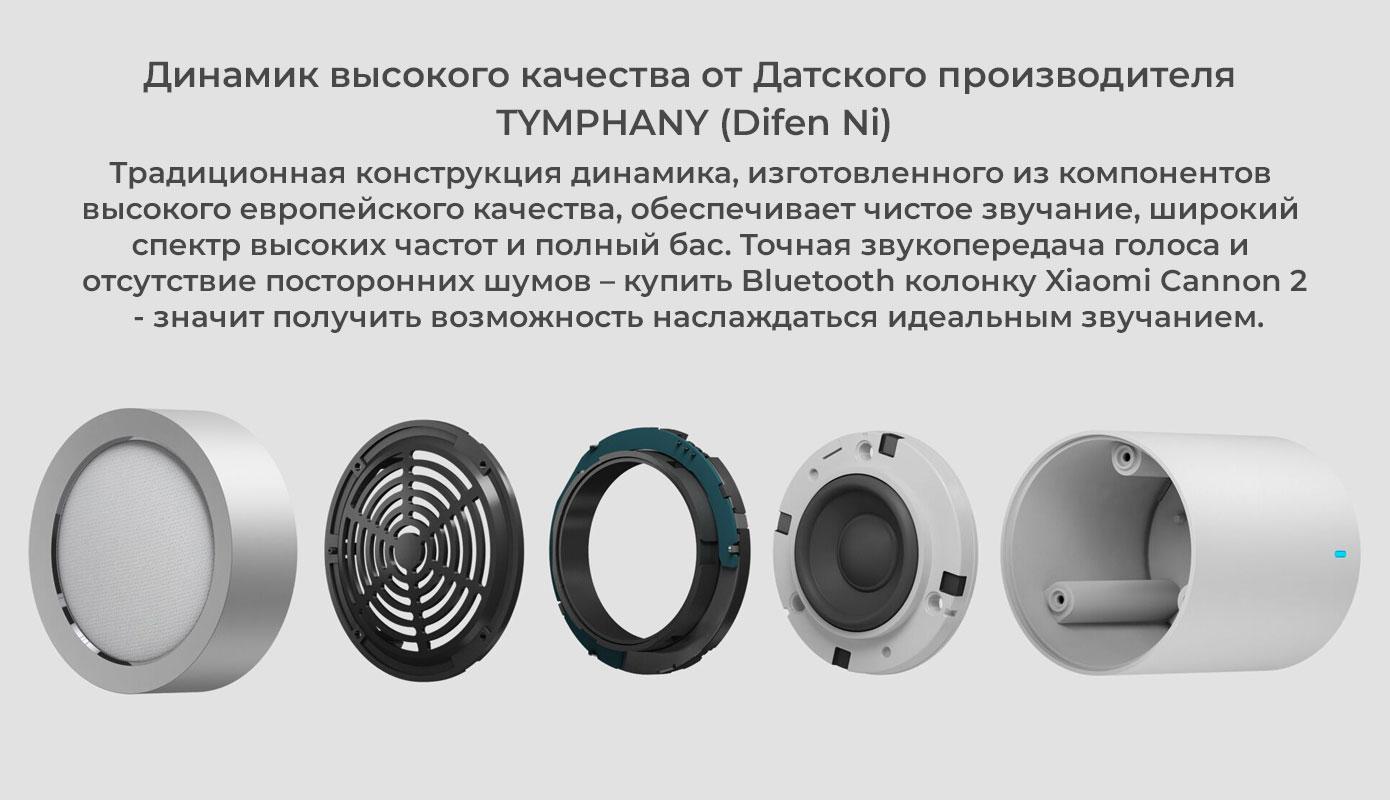 Opisanie Portativnaya Bluetooth Kolonka Xiaomi Cannon 2 Fxr4041cn 4
