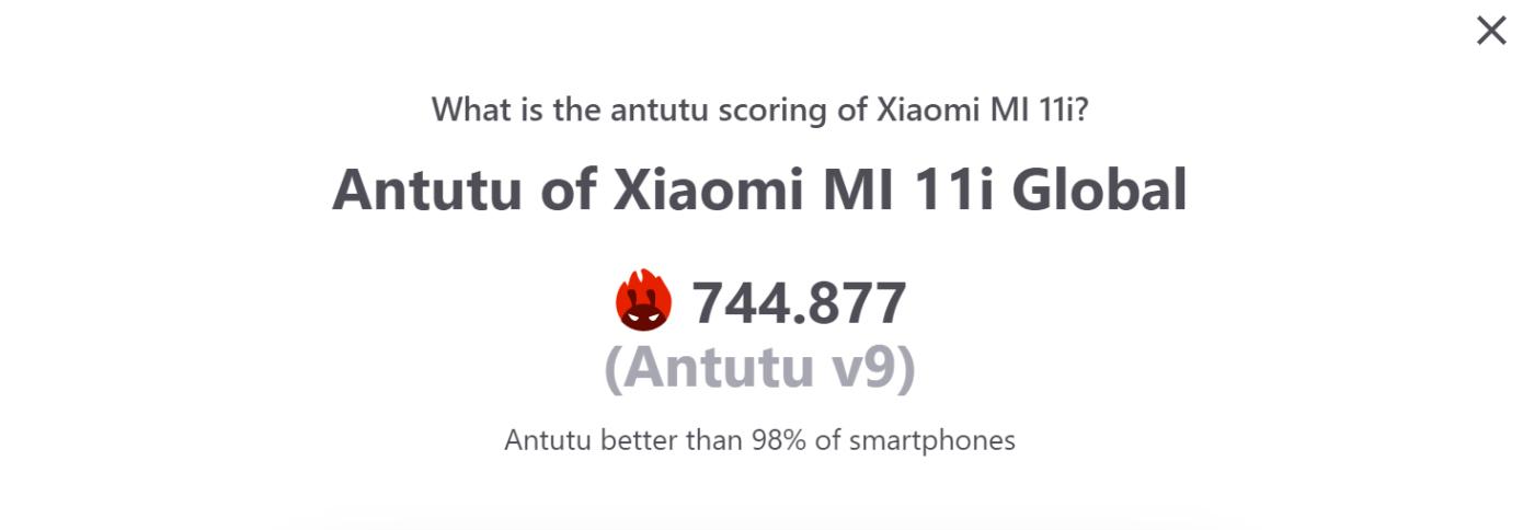 Opisanie Xiaomi Mi 11i 3
