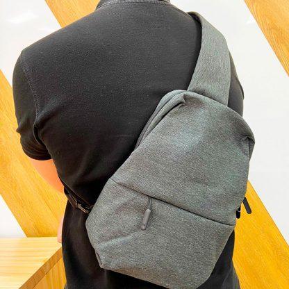 Uczenka Sumka Cherez Plecho Xiaomi Chest Bag Chernaya 7