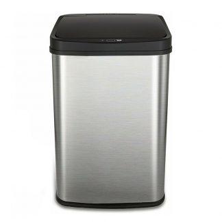 Umnoe Musornoe Vedro Xiaomi Ninestars Stainless Steel Sensor Trash Can 15l Dzt 15 5 1