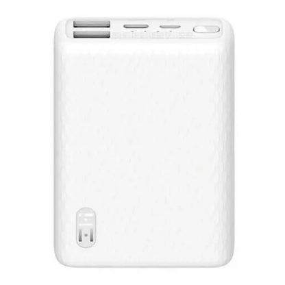 Vneshnij Akkumulyator Power Bank Zmi 10000 Mah Qb817 White 22 5w 1
