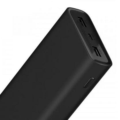 Vneshnij Akkumulyator Xiaomi Power Bank 3 Super Flash Charge 20000mah Black Pb2050zm 2