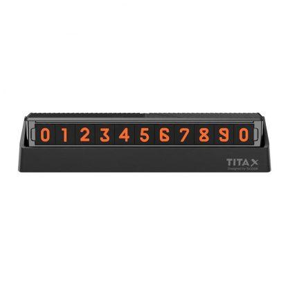 Vremennaya Karta Parkovki Xiaomi Tita X Temporary Parking Card 1