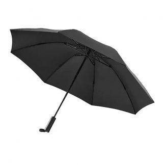 Zont Xiaomi 90 Points Automatic Reverse Folding Umbrella S Fonarem Black 1