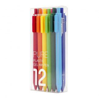 Nabor Sharikovyh Ruchek Xiaomi Mi Kaco Rainbow Pen 12sht 1