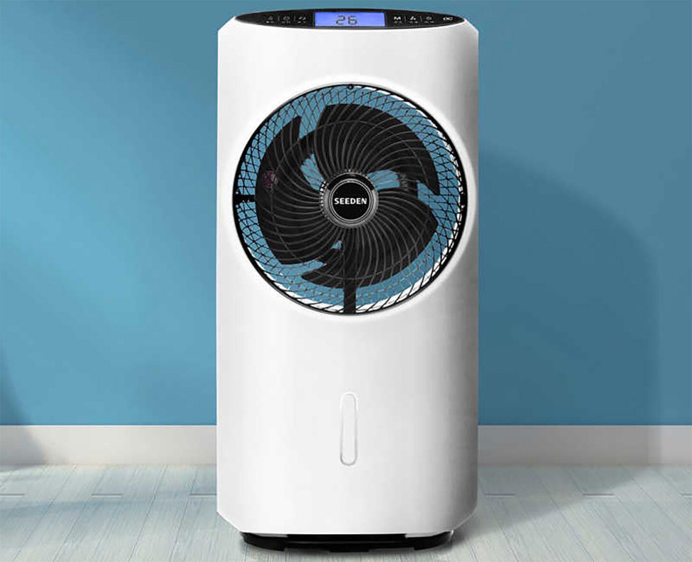 Opisanie Ventilyator S Uvlazhnitelem Vozduha Seeden Fog Type Cooling Fan 1s 4