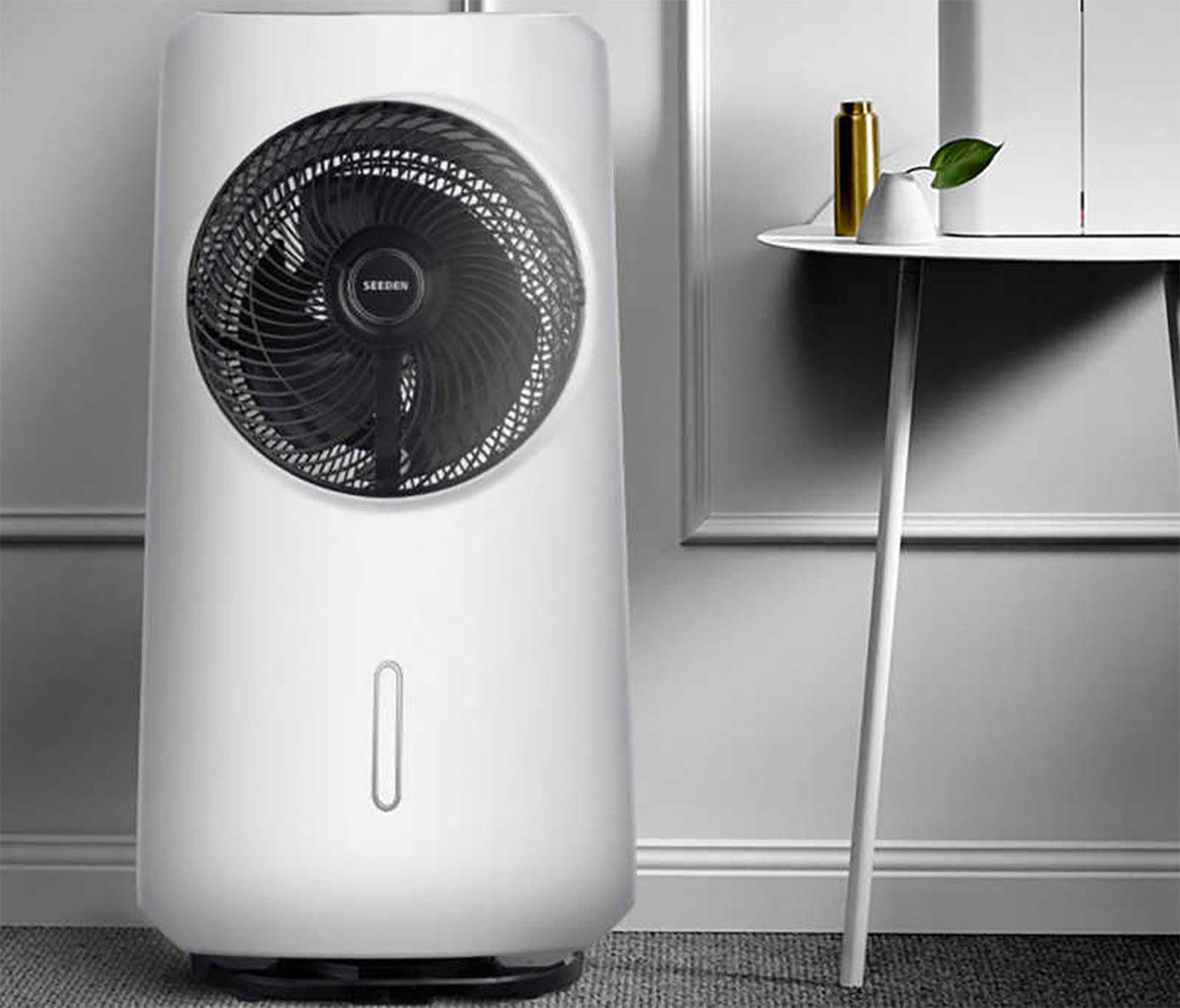 Opisanie Ventilyator S Uvlazhnitelem Vozduha Seeden Fog Type Cooling Fan 1s 5