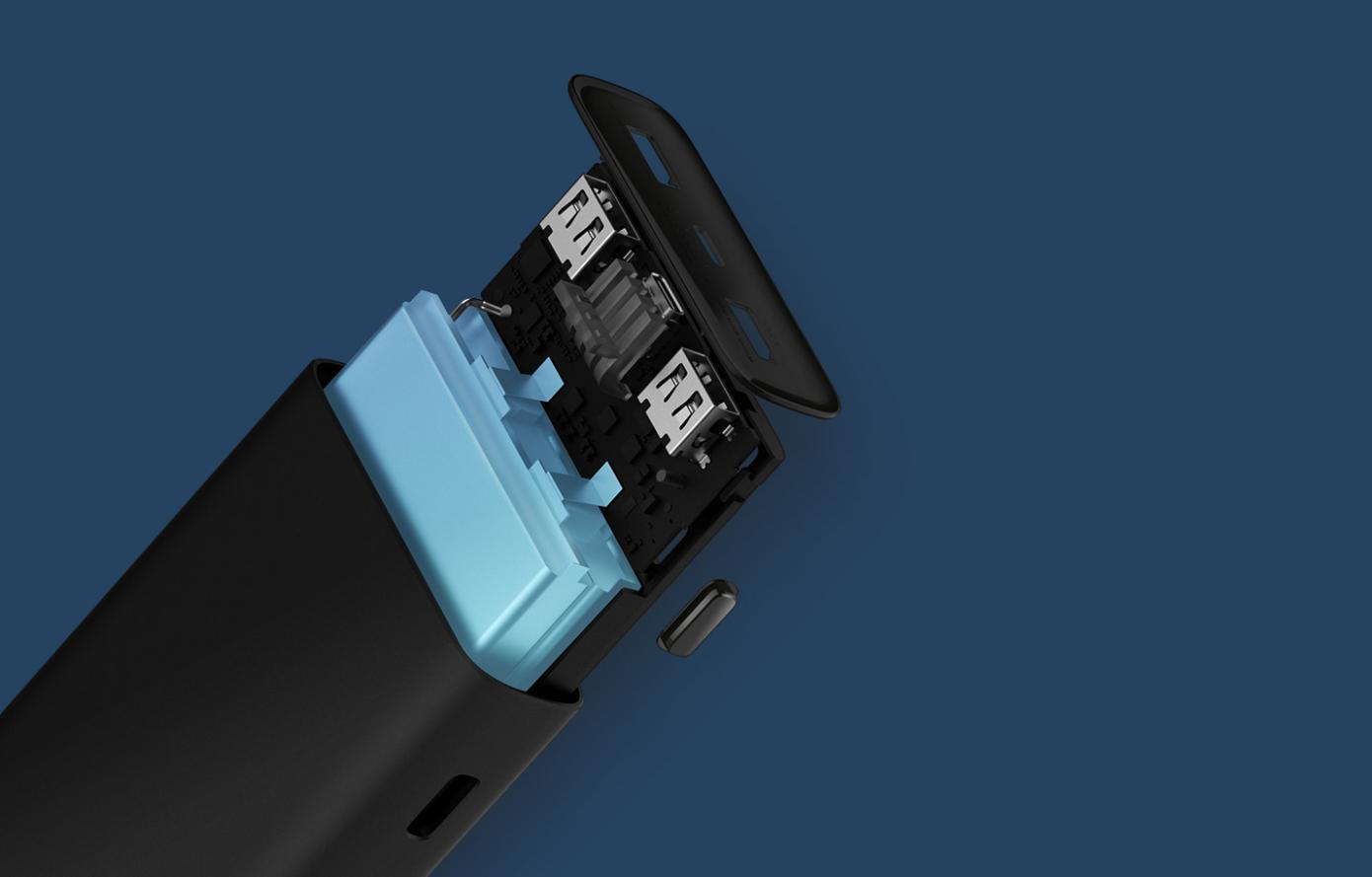 Opisanie Vneshnij Akkumulyator Xiaomi Power Bank 3 Super Flash Charge 20000 Mah Black Pb2050zm 3