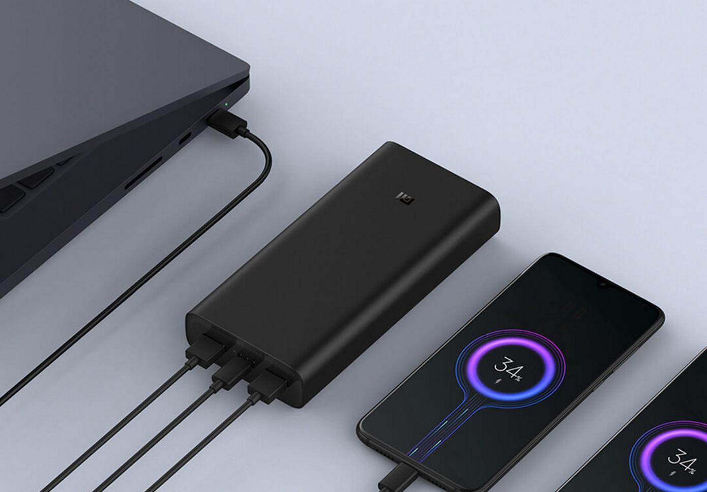 Opisanie Vneshnij Akkumulyator Xiaomi Power Bank 3 Super Flash Charge 20000 Mah Black Pb2050zm 7