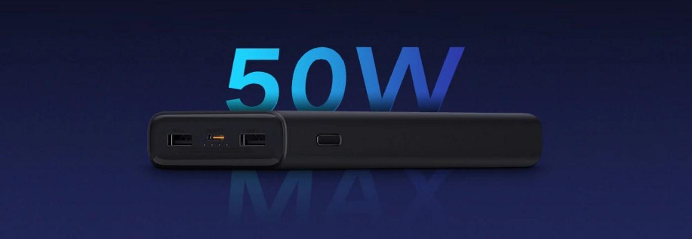 Opisanie Vneshnij Akkumulyator Xiaomi Power Bank 3 Super Flash Charge 20000 Mah Black Pb2050zm 8