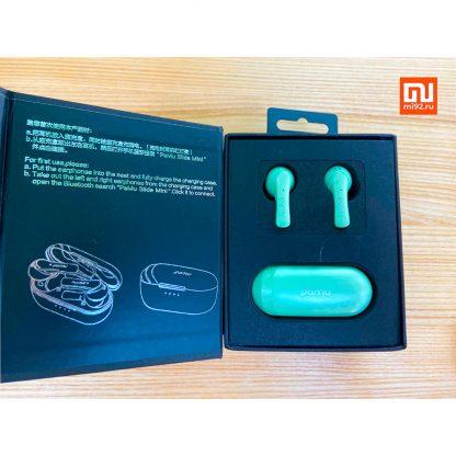 Uczenka Besprovodnye Naushniki Xiaomi Pamu Slide Mini T6c Green 1
