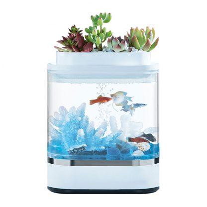 Akvarium Xiaomi Geometry Mini Lazy Fish Tank Pro C300 1