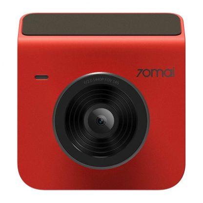 Videoregistrator Xiaomi 70mai Dash Cam A400 1 Red S Kameroj Zadnego Vida 1