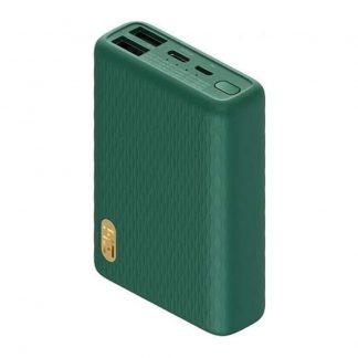 Vneshnij Akkumulyator Power Bank Zmi 10000 Mah Qb817 Green 22 5w 1